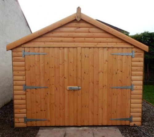 loglap garage