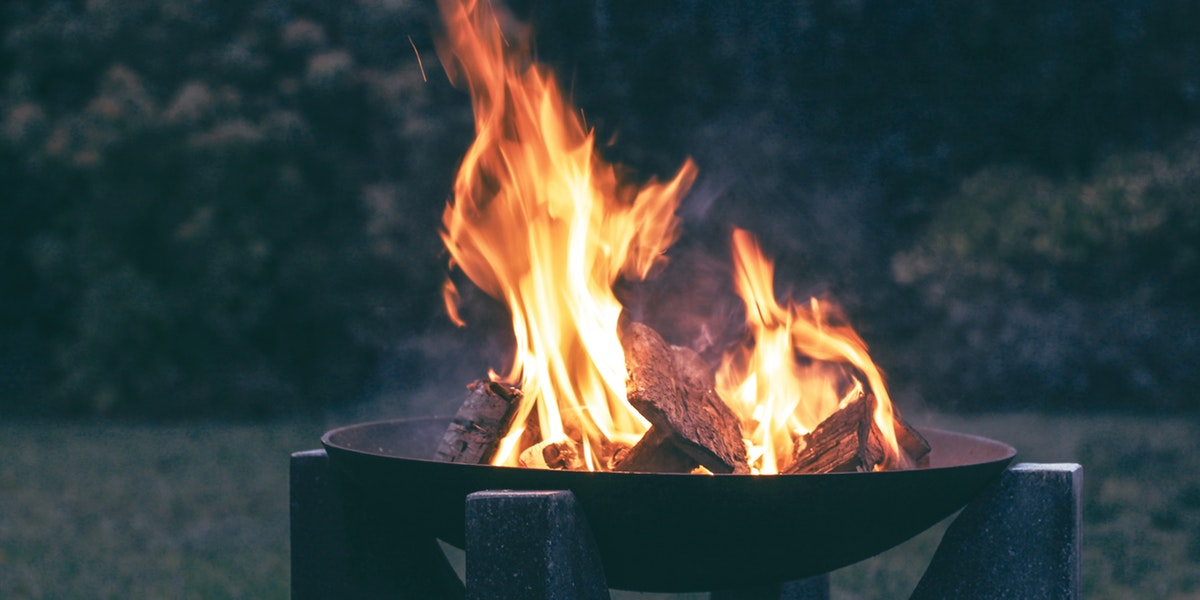 garden wood burner