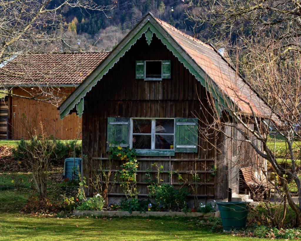 apex shed garden