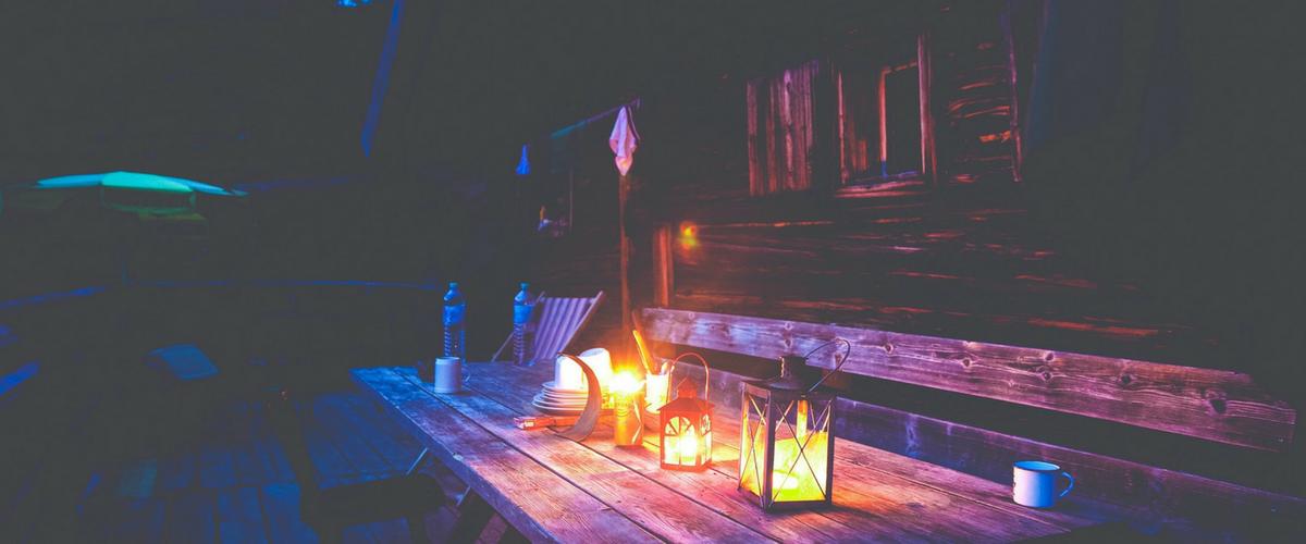 Deck Lighting cosy