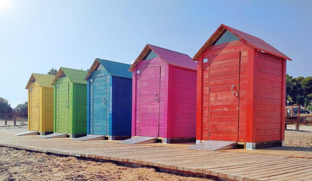 Beach shed Stewart Timber