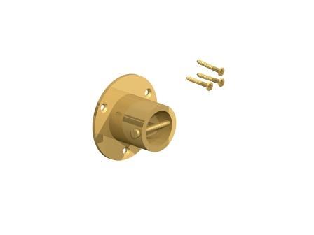 brass end
